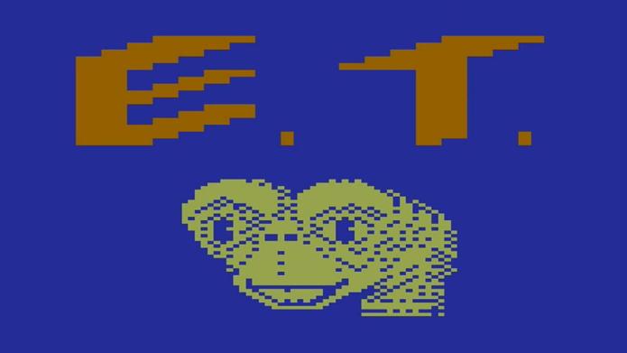 Para muitos, o pior jogo da história, ET é um símbolo dos lançamentos ruins da Atari que quase destruíram toda a indústria (Foto: Reprodução/YouTube)