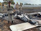 Avião de pequeno porte cai às margens da GO-139, em Corumbaíba