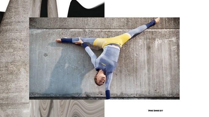 Karlie Kloss: ioga fitness (Foto: Divulgação)