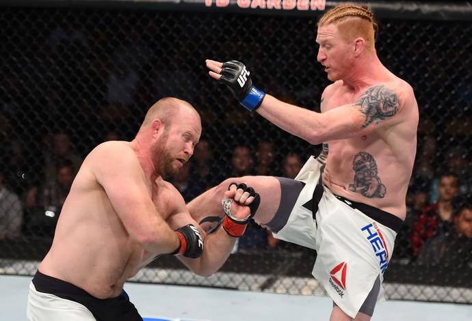 Ed Herman e Tim Boetsch, UFC Boston (Foto: Getty Images )