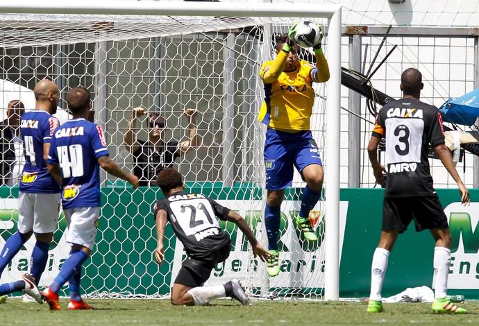 Fábio; Cruzeiro (Foto: Washington Alves/Light Press)