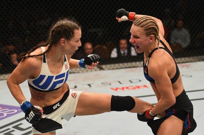 Justine Kish, Nina Ansaroff, UFC 195, MMA (Foto: Getty Images)