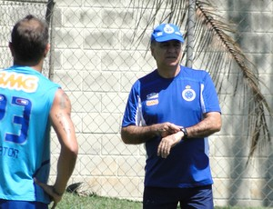 Treino Marcelo Oliveira Cruzeiro (Foto: Gabriel Duarte)