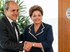 Gustavo Fruet é recebido em Brasília pela presidente Dilma Rousseff