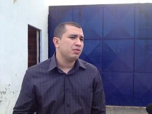 Capitão Anselmo Moura (Foto: Gil Oliveira/G1)