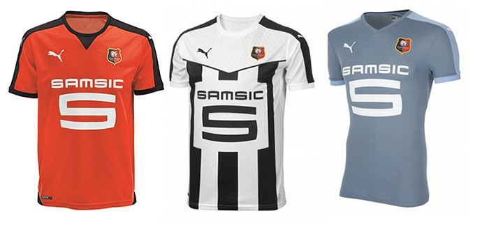 Camisas Rennes