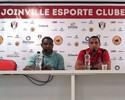 Thiago Medeiros se apresenta e cita data de possível estreia pelo Joinville