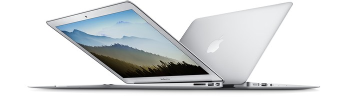 Mais barato entre as opções, MacBook Air custa a partir de R$ 7.999 (Foto: Divulgação/Apple)
