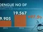 Com a volta das chuvas, GDF promete intensificar ações contra a dengue