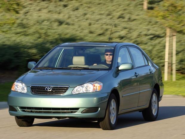 Toyota Corolla 2007 (Foto: Divulgação)
