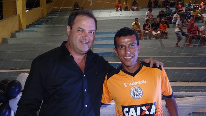 Vica e Didira (Foto: Leonardo Freire/GloboEsporte.com)