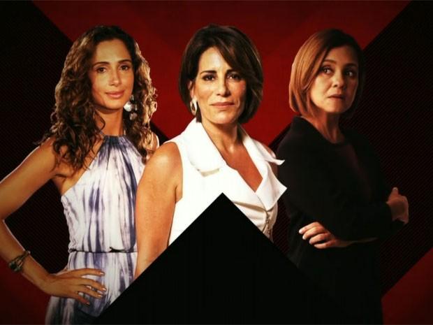 Regina, Beatriz e Inês são movidas por uma forte ambição (Foto: TV Globo)