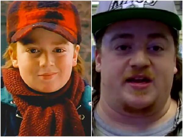 Danny Tamberelli em 1993 e 2014 – O irmão mais novo da série 'As Aventuras de Pete e Pete' já não é mais tão pequeno. Atualmente ele faz parte de um grupo de comédia chamado 'ManBoobs Comedy'.  (Foto: Divulgação)