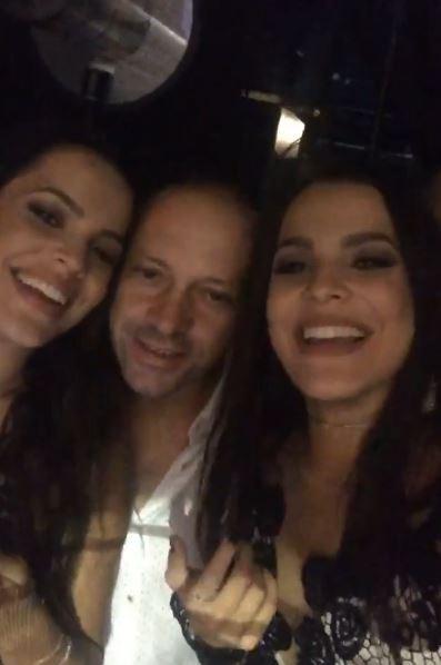 Mayla, Volnei e Emilly (Foto: Reprodução/Instagram)