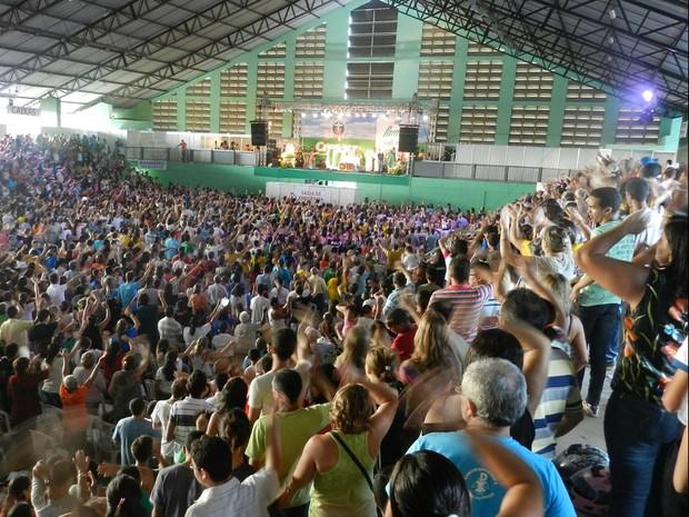 17º Crescer em 2014, em Campina Grande (Foto: Acervo da Comunidade Pio X )