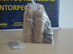 Droga foi comprada na Venezuela, segundo polícia (Foto: Inaê Brandão/ G1 RR)