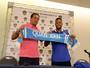 """Emocionado, Geuvânio explica escolha pelo futebol chinês: """"Família"""""""