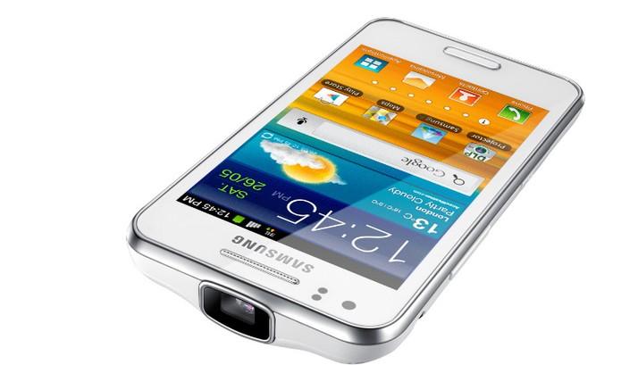 Samsung Galaxy Beam tem um processador e memória RAM fracaspara o mercado atual (Foto: Divulgação/Samsung)