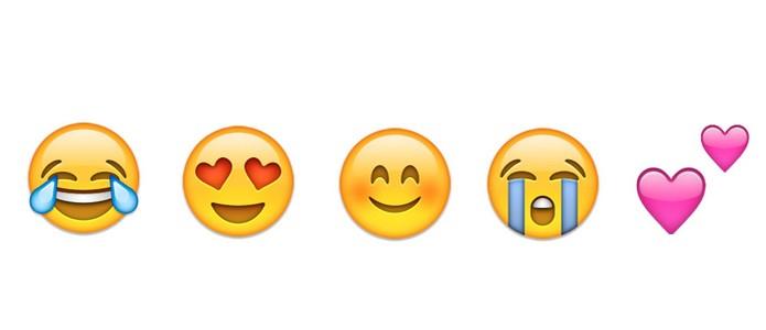 Top 5 emojis mais utilizados no Twitter (Foto: Reprodução/Emoji)