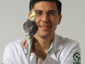 Cláudio Yudi é o médico veterinário responsável pelo Hospital Veterinário de Uberaba (Foto: Cláudio Yudi/Arquivo)