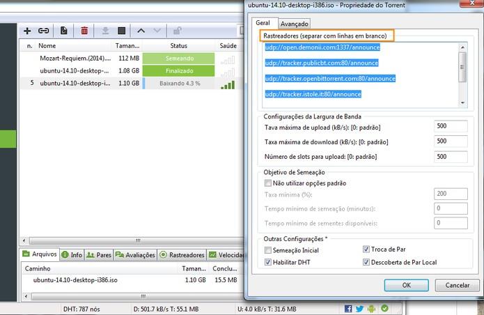 Download de torrents pelo computador (Foto: Reprodução/Barbara Mannara)