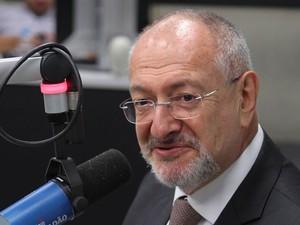 José Renato Nalini em foto de janeiro de 2014, quando ocupava a presidência do Tribunal de Justiça do Estado de São Paulo (Foto: Werther Santana/Estadão Conteúdo/Arquivo)