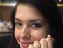 Grávida, Thais Fersoza ganha anel de Teló com o nome da filha Melinda
