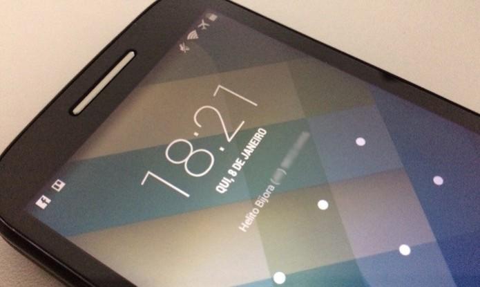 Saiba como adicionar as suas informações de contato à tela de bloqueio do Android (Foto: Reprodução/Helito Bijora)