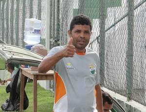 Erivaldo Domício, gerente de futebol do Coruripe (Foto: Leonardo Freire/GloboEsporte.com)