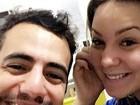 Ex-BBB Cacau parabeniza Matheus pelo aniversário dele: 'Te amo'