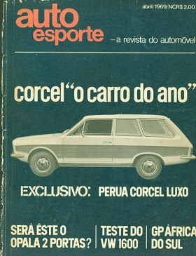 Capa da revista Autoesporte de 1969 (Foto: Autoesporte)