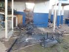 Incêndio destrói parte de escola em Barreiras, oeste da Bahia