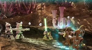 Cena de 'LEGO Star Wars III' (Foto: Divulgação/LucasArts)