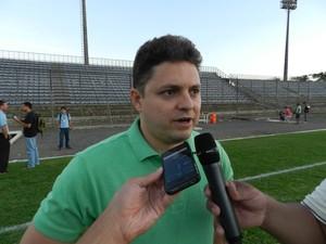 Cristiano Dresch vice-presidente do Cuiabá (Foto: Assessoria/Cuiabá Esporte Clube)