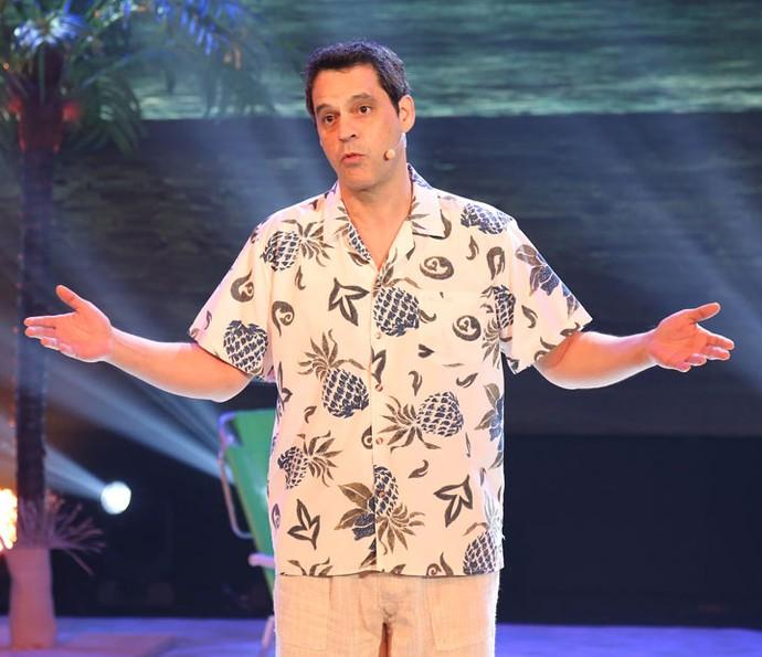 Bruno Garcia faz sua segunda apresentação no 'Truque Vip' (Foto: Carol Caminha/Gshow)