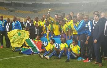 """""""Brasileiro"""" Mamelodi perde, mas é campeão da África e vai ao Mundial"""
