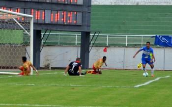 Atlético-AC x Princesa do Solimões, no Florestão (Foto: Nathacha Albuquerque)
