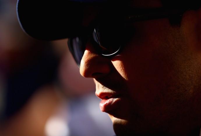 O piloto brasileiro Felipe Massa nesta quinta-feira em Sochi (Foto: Getty Images)