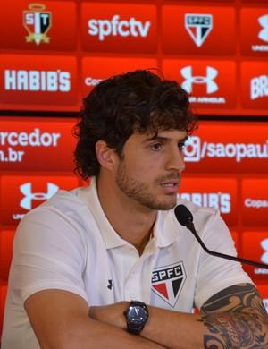 Hudson São Paulo (Foto: site oficial / saopaulofc.net)