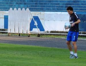 elano treino grêmio olímpico (Foto: Lucas Rizzatti/Globoesporte.com)