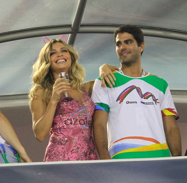 Grazi Massafera e o namorado, Patrick Bulus (Foto: Marcia Tavares/ Ed. Globo)