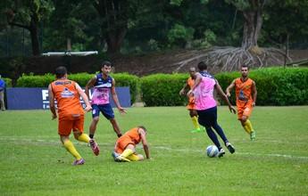 Com facilidade, time do Espírito Santo goleia Tupy-ES em jogo-treino na Serra