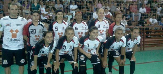 Copa TV TEM, em São Roque, time feminino Sorocaba (Foto: Rafaela Gonçalves / GloboEsporte.com)