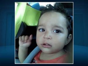 Bebê Miguel de Godoy, de 1 ano, morreu após se engasgar em creche de Mogi Guaçu (SP) (Foto: Reprodução EPTV)