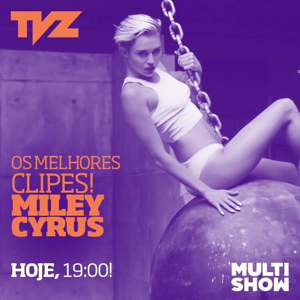 Especial Miley Cyrus TVZ (Foto: Multishow)