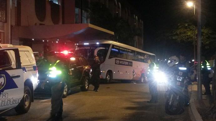 Delegação da Austrália já retornou ao Espírito Santo (Foto: Richard Pinheiro/GloboEsporte.com)