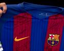 Camisa do Barça enviada para a Chape tem dedicatória especial de Neymar
