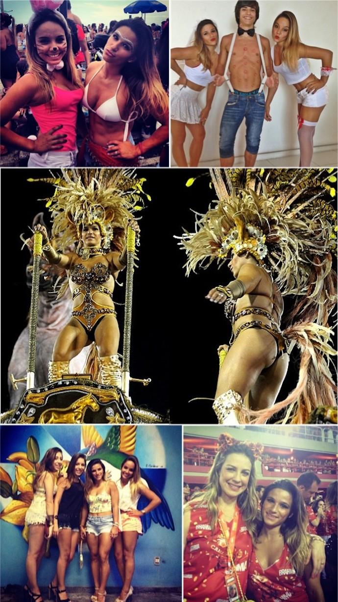 Montagem Carnaval Jade Barbosa (Foto: Reprodução)