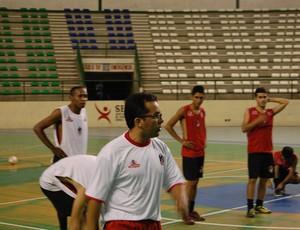 Paulo Mendonça, treinador do João Pessoa Futsal (Foto: João Neto)