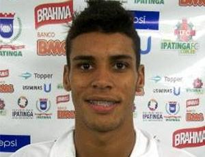 Gedeilson é a nova contratação do Ipatinga (Foto: Divulgaçãos / Site Oficial do Ipatinga)